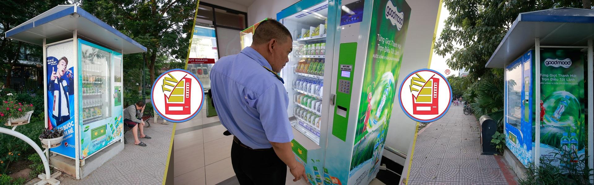 Máy bán hàng tự động Tân Tiến Việt
